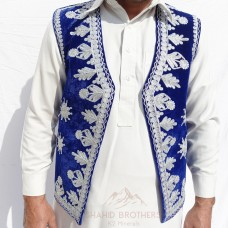 Afghan Traditional Tribal Vest # 1258