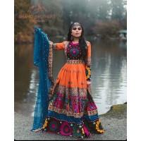 vintage shop afghan tribal dresses # 1247