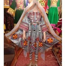Afghan Beauty Tribal Dress # 1251