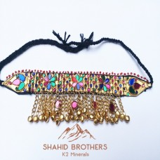 TRIBAL NECKLACE ANTIQUE ETHNIC NECKLACE # 1209