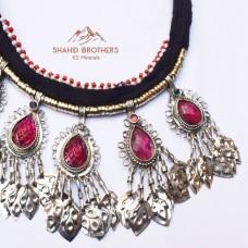 online afghani tribal necklace # 1231