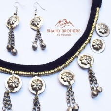 tribal necklace with earring # 1234