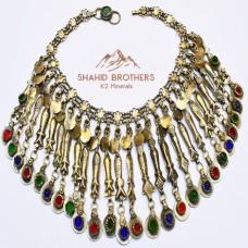 Afghan Kuchi Tribal Vintage Fish Pendant Necklace # 1243