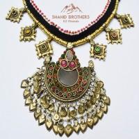 Old Afghan Tribal Vintage Pendant Necklace # 1245