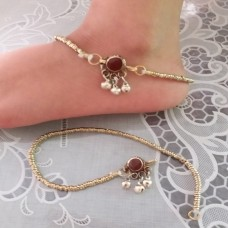 Jewellery belly dance tribal anklet # 1136