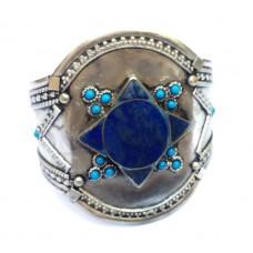 Afghan jewelery tribal lapis star bracelet # 1080