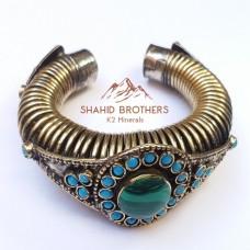Afghan fashion golden bracelets # 783