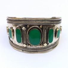 afghan tribal cuff bracelet # 1018
