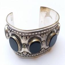 Afghan Vintage style cuff bracelet # 339