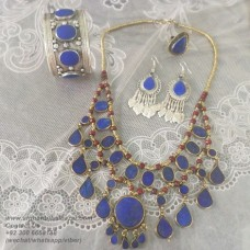 Afghan Tribal Vintage jewellery set-18