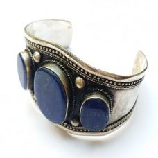 Gypsy boho vintage nomad afghan jewellery cuff # 1103