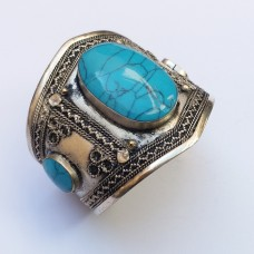 Turkmen Vintage style cuff # 343