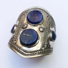 Butterfly Style Lapis Stone Tribal Bracelet # 405