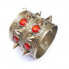 Butterfly Style spike Tribal Bracelet in golden color # 449