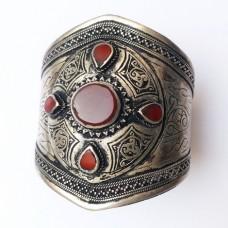 Antique vintage afghan tribal cuff bracelet # 1022