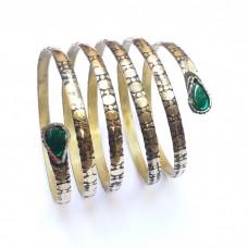 Gypsy vintage spring afghan tribal bracelet # 1049