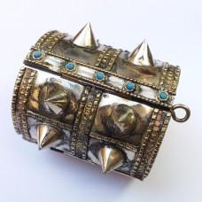 Kuchi afghan spikes tribal bracelet # 227