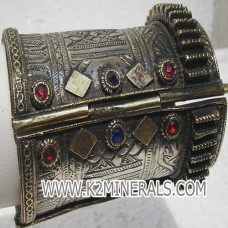 Afghan Gypsy Vintage Beautiful Cuff bracelet # 7