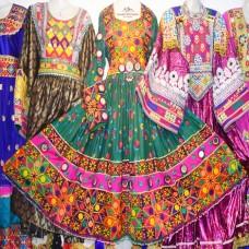 Traditional Afghanistan Kuchi tribal dress # 324