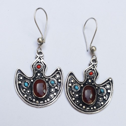Fashion Antique Afghan Jewellery Earring-1118