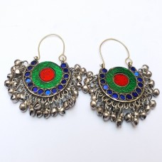 Afghan Dangle Earrings # 1062