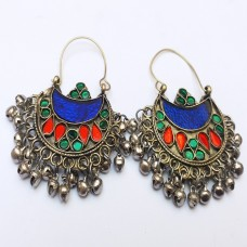 Afghan tribal Traditional Style Earrings # 1063