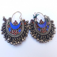 Antique tribal Vintage Earring # 81
