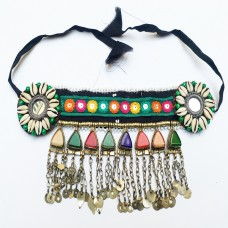 Kuchi Tribe Gypsy Headpiece with Sea Shells-223
