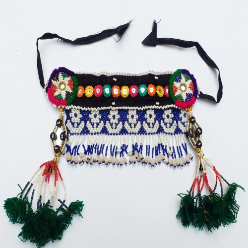 Kuchi Tribal Vintage Head Piece-348
