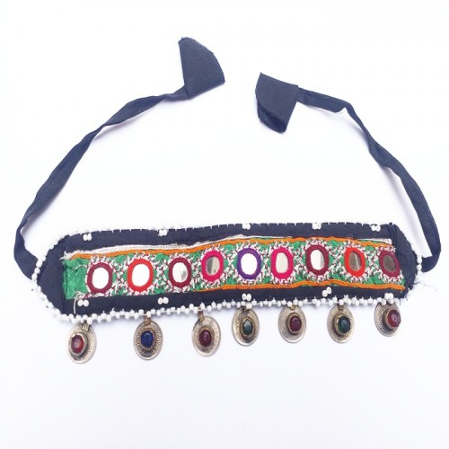 Gypsy tribe coin headpiece-90