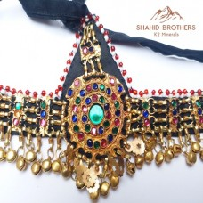 Afghan Jewelery Tribal Headpiece Matha Patti Jewellery # 1211