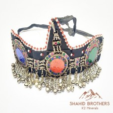 Headdress Kuchi Tribal Ethnic Headdress ATS Belly Dance Jewelry # 964