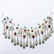 Turkman Tribal Headdress,festival head chain-925