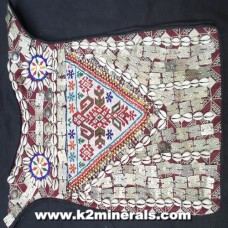 Vintage Turkmen Ceremonial Vest-319
