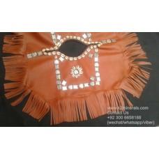 turkmen style poncho-636