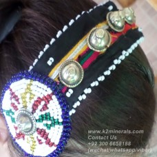 afghan kuchi tribal hairband-773
