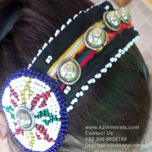 afghan kuchi tribal hairband-773