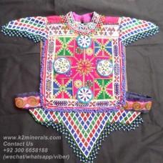 afghan tribal Orignal vintage vest-797