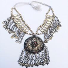 Kuchi tribe vintage necklace-283