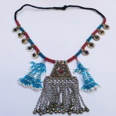 Afghan Tribal Antique Vintage Choker-898