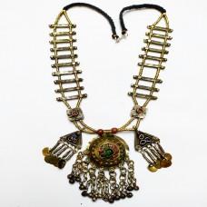 Nomadic Tekke-Turkmen tribal Cultural necklace-1170