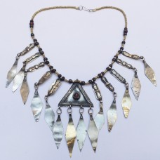 Turkman Style Tribal Necklace-891
