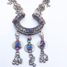 Vintage tribal afghan Turkmen Jewelry-1125