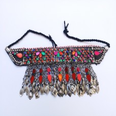 Kuchi beaded tribal necklace-200