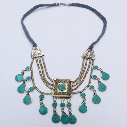 Ethnic Kuchi tribal necklace-331