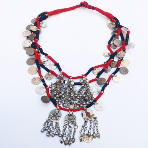 Gypsy fashion Vintage Necklace-416