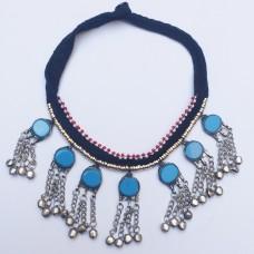 Nomad Kuchi Necklace Turquoise-422
