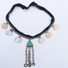 Belly Dance kuchi tribe necklace-554