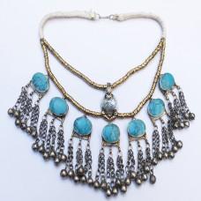 Vintage wholesale turquoise choker-1079