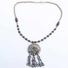 Turkmen Tribal Handmade Necklace-1151